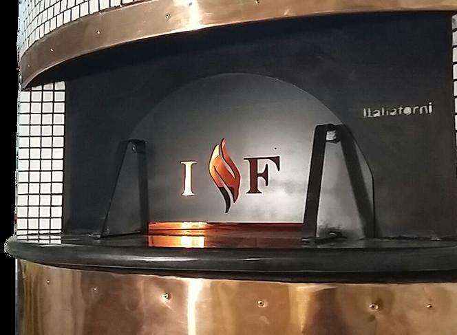 horno de gas para pizza