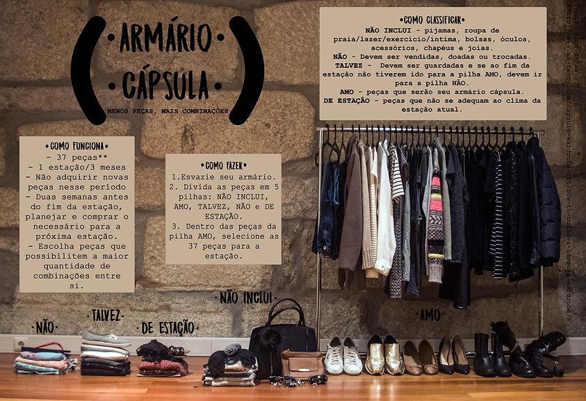 Armário Cápsula - Como fazer o seu