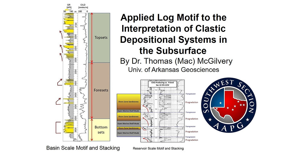 2021 SWS AAPG Bill Hailey Continuing Education Short Course