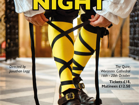 Twelfth Night comes to Worcester Cathedral