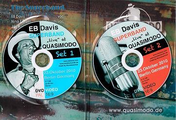 EB Davis DVD Innenansicht