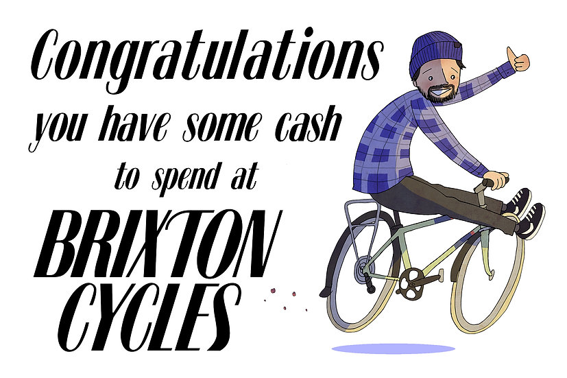 Brixton Cycles Gift Voucher £100