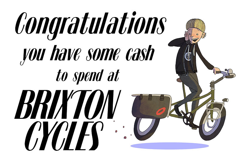 Brixton Cycles Gift Voucher £20