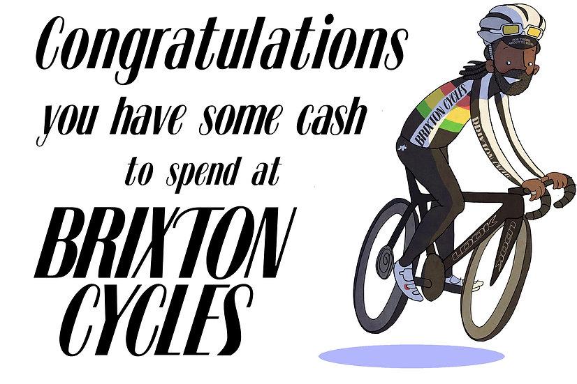 Brixton Cycles Gift Card £50