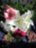 Bouquet fleurs coupées