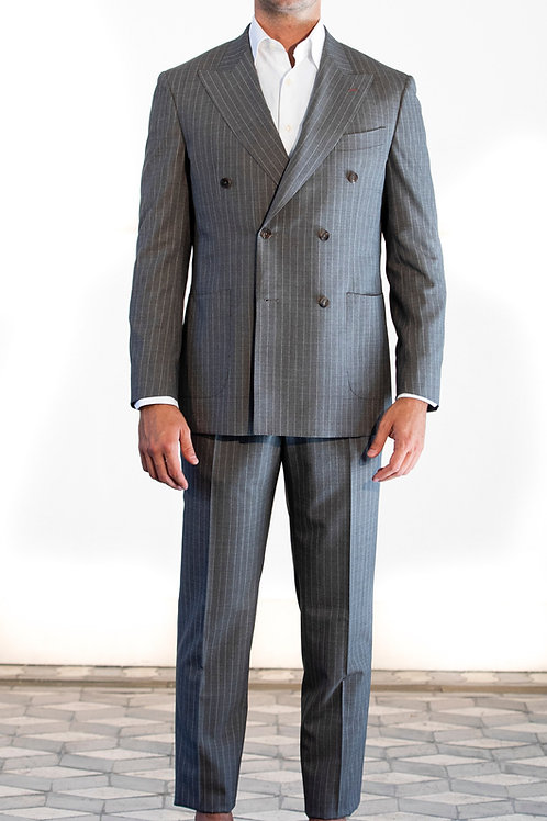 Grey suit double breast ZINGONE Spring-Summer '21 Collection