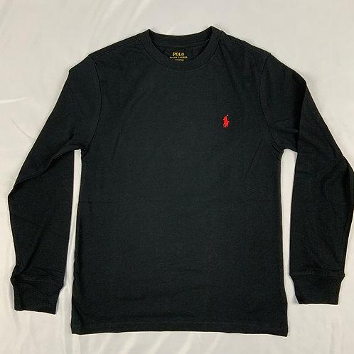 Magliette (blu, rosso, verde) manica lunga Polo Ralph Lauren