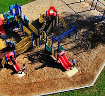 WOODCARPET BONDED 2 FOR PLAYGROUND PATHW