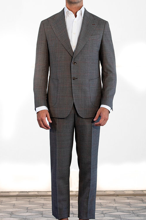 Grey suit single breast ZINGONE Spring-Summer '21 Collection