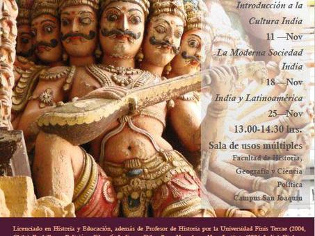Ciclo de Conferencias sobre India - Universidad Católica de Chile