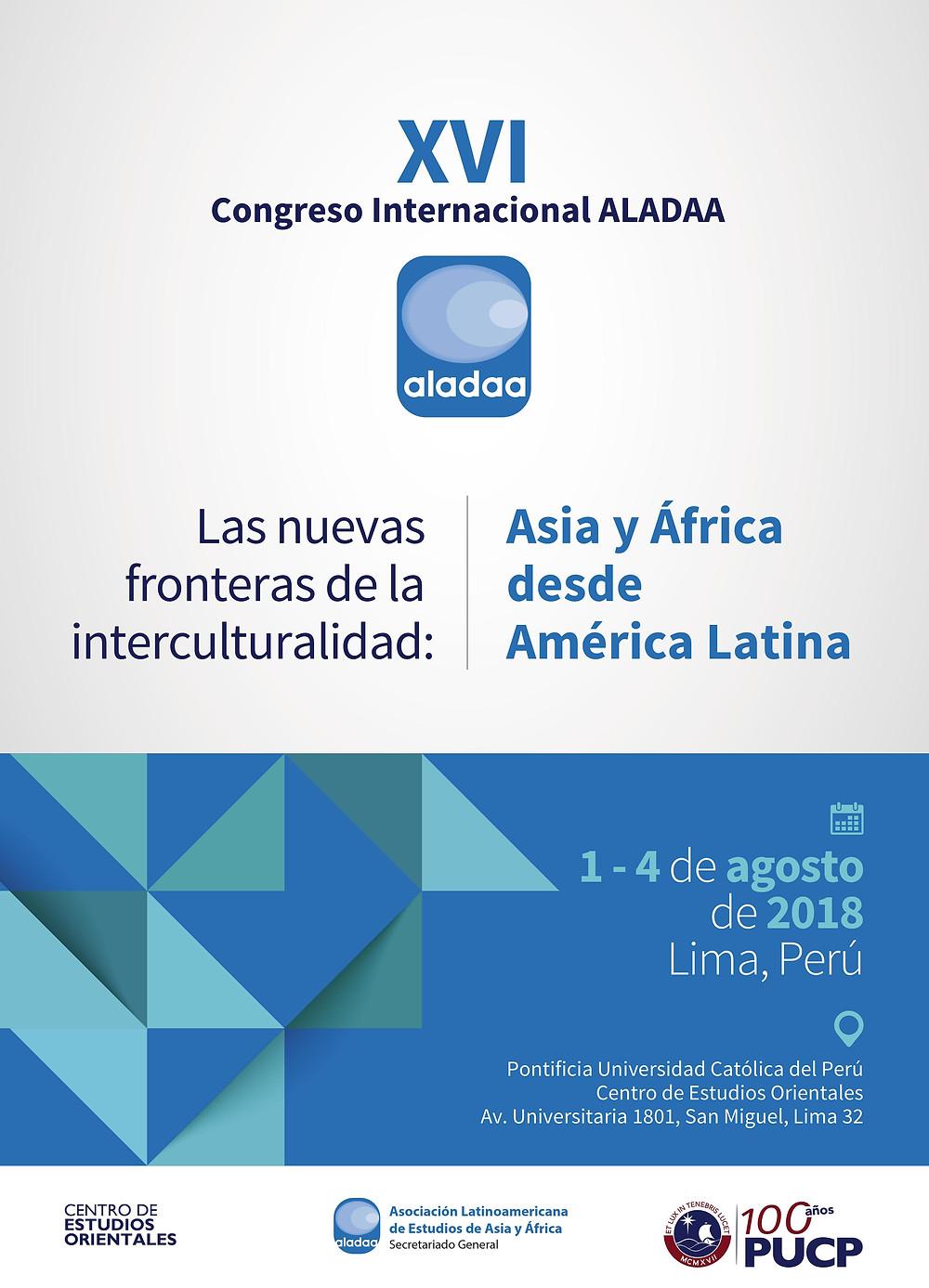 Congreso Internacional ALADAA Perú 2018