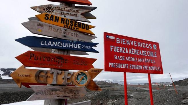 China se hace presente en la Antártica