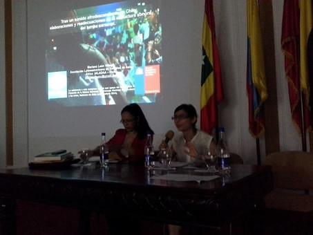 Mariana León: Investigadora de ALADAA Chile participa en la IV Conferencia Internacional de Negritud