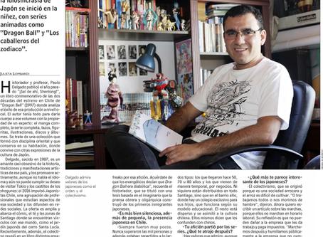 """Entrevista en diario """"Las Últimas Noticias"""" a Paulo Delgado, miembro de ALADAA Chile y fun"""