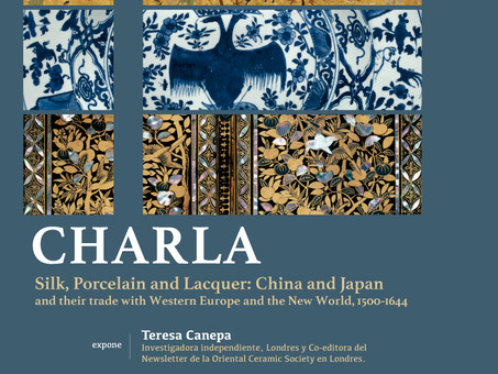 "Charla ""Silk, Porcelain and Lacquer: China and Japan..."" en la Universidad Católica"