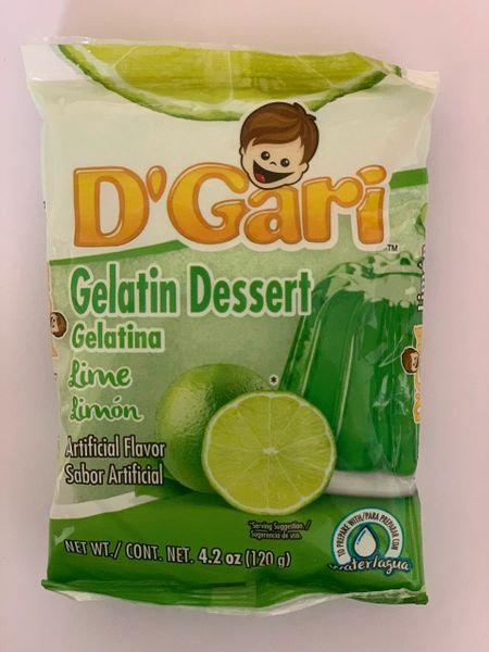 Gelatin dessert Lime