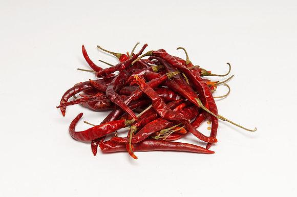 Dried Arbol Peppers 100gr