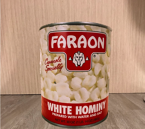 Faraon Hominy Corn 30 Oz (850 gr)