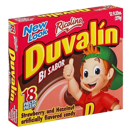 Duvalin Bi Sabor Chocolate - Strawberry Box