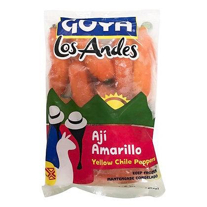 Los Andes Ají Amarillo Entero 1Lb (Frozen Product)