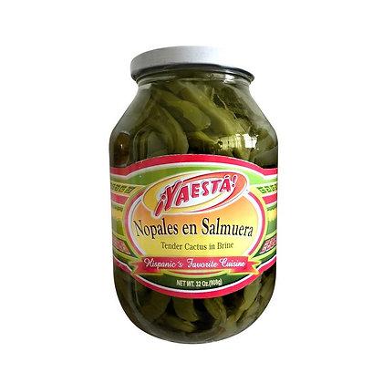 YaEsta Nopales - Tender Cactus 32 Oz