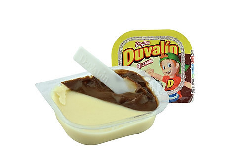 Duvalin Bisabor chocolate - Vainilla 6 pieces