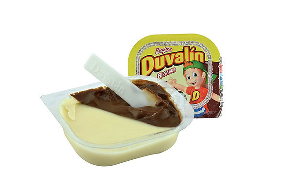 Duvalin Bi Sabor Chocolate - Vanilla 6 Pieces