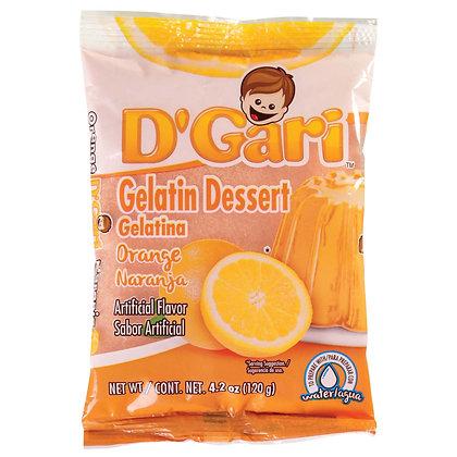 D' Gari Orange Gelatin Dessert