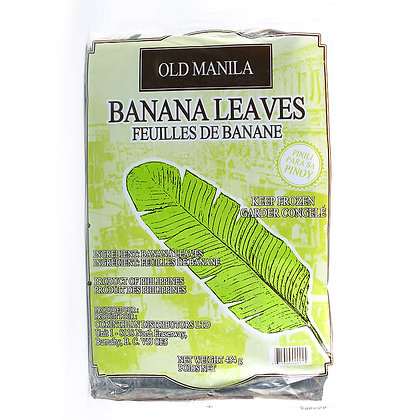 Banana Leaves 450gr (Frozen Product)