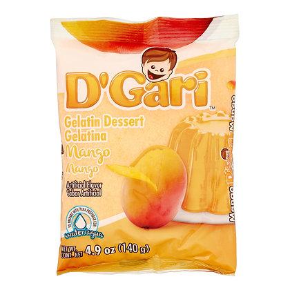D' Gari Mango Gelatin Dessert