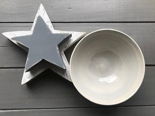 Plain Grey Bowl