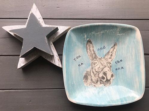 Seaside Donkey Dish