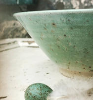 Speckled Wood Ash Thrown Bowl