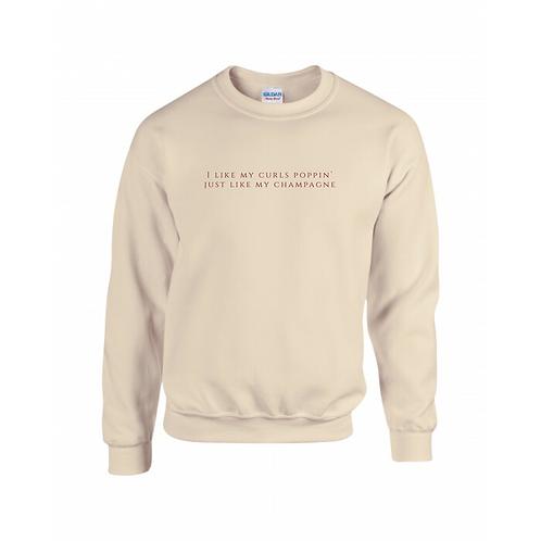 Champagne Poppin' Sweatshirt