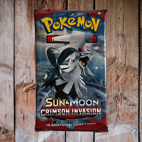 Pokémon Sun & Moon: Crimson Invasion (Random Loose)
