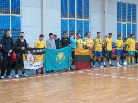 О том как казаки Балтийского Союза казаков СКР в футбол играют!