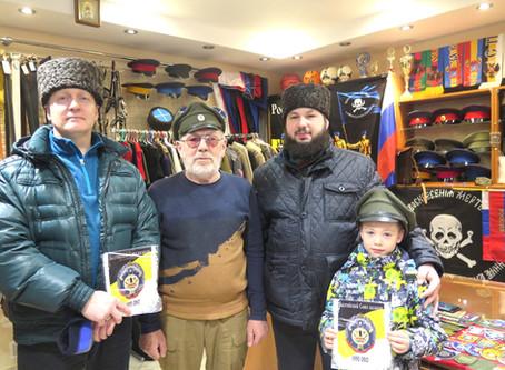 К казакам Балтики приехали казаки-уссурийцы!