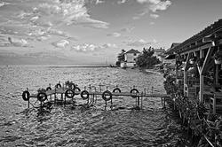 Fish Restaurant on Lake Ohrid at Radozhda