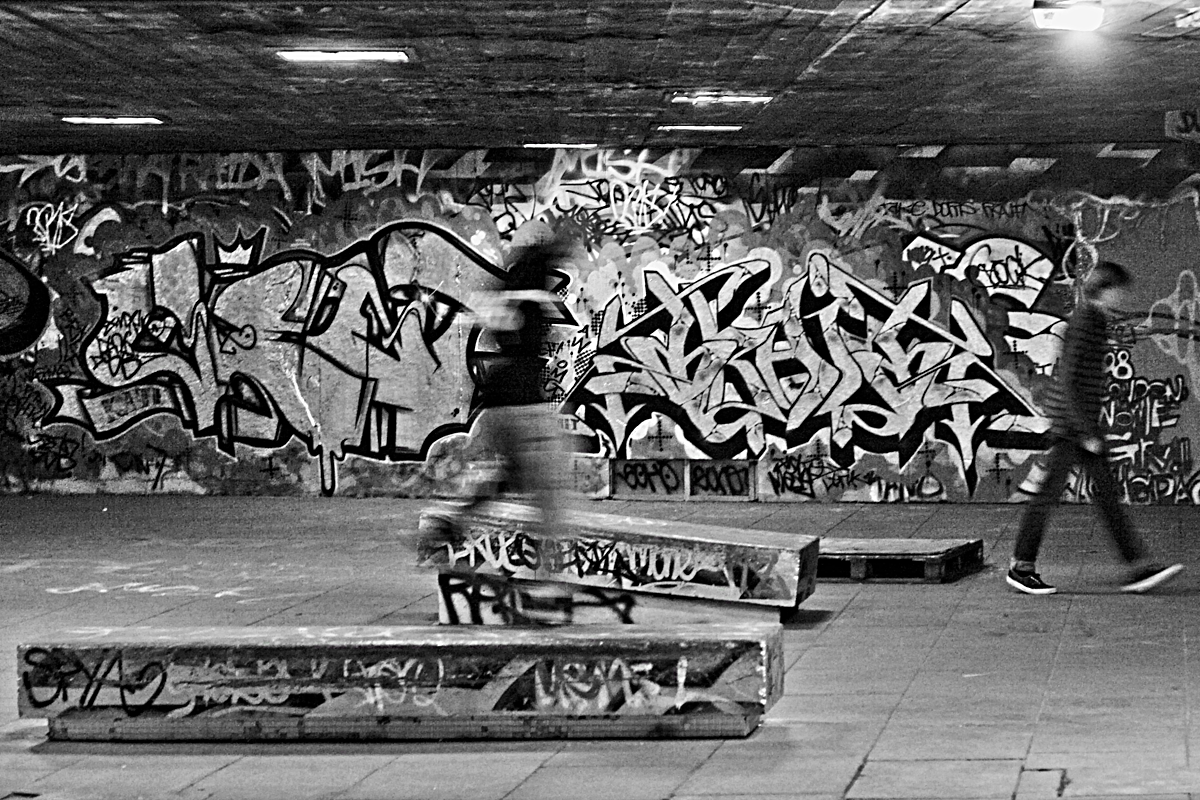 Southbank Skate Park, London
