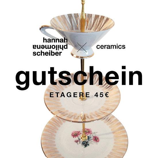 SELF-PRINT GUTSCHEIN ETAGERE