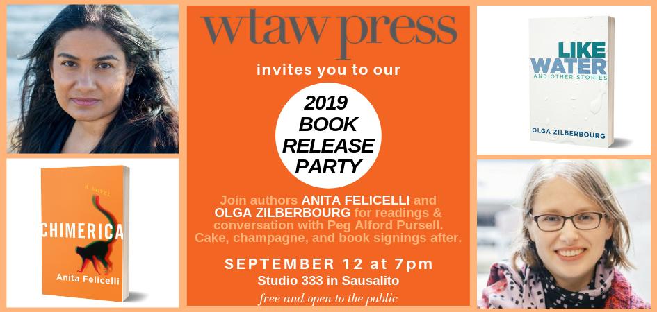WTAW Press 2019 Book Launch Celebration