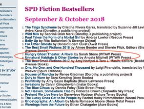 WTAW October 2018 Books Named SPD Bestsellers