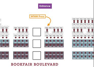 AWP 2020 Bookfair Location WTAW Press