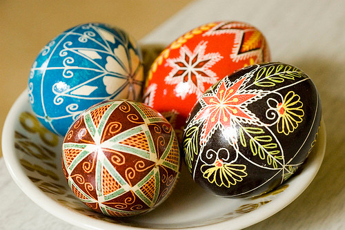 Texas Easter Eggs