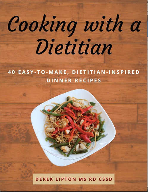 Cooking with a Dietitian: Recipe e-book