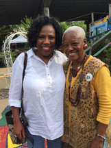 Mayor Broome & Ms. Sadie