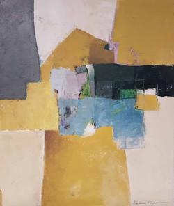 Abstraction, Jaune et bleu