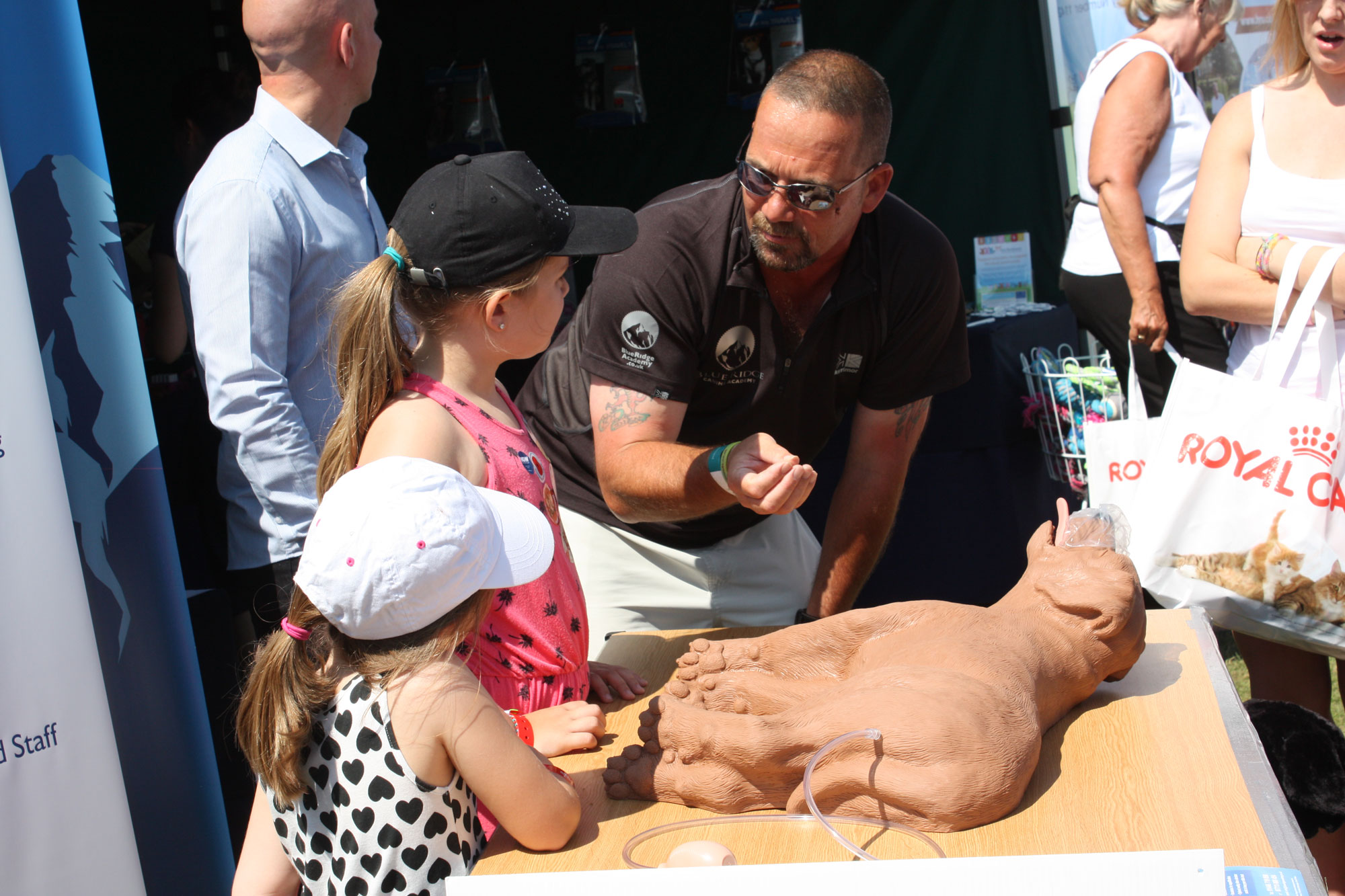 K9 CPR Demonstration