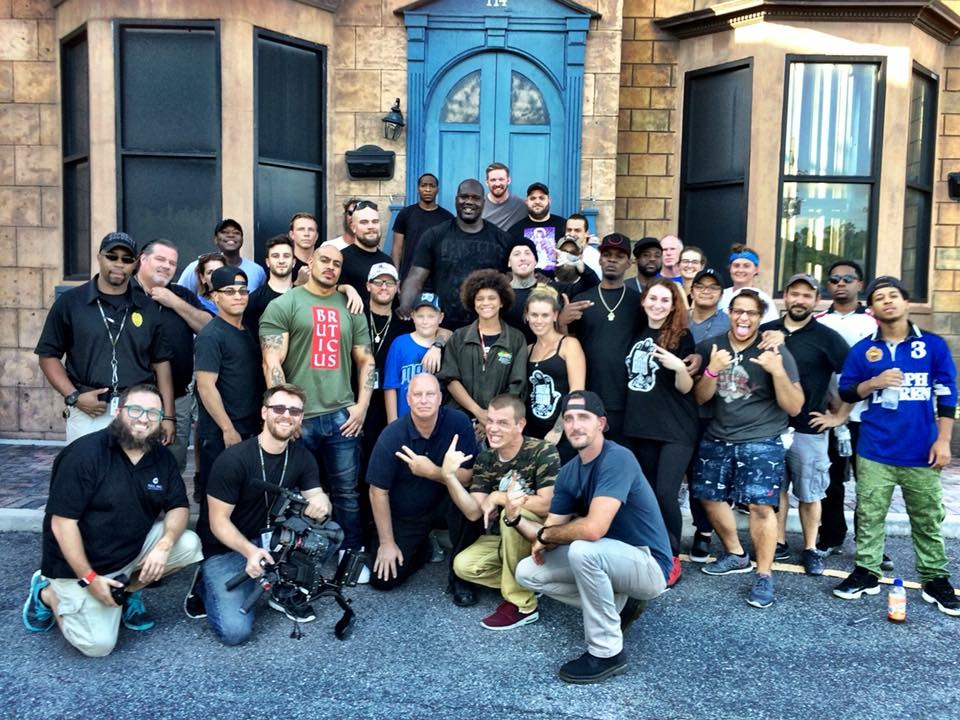 """Hercules"" music video crew"