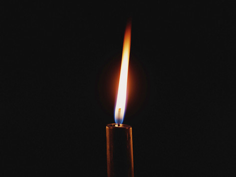 Lighting the Candle of Hope: A Meditation